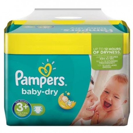 340 Couches Pampers Baby Dry Taille 3 Pas Cher Sur Couches Zone
