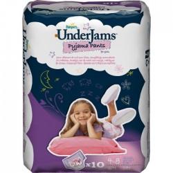 Underjams - Pack de 10 Sous-vêtements jetables de Pampers taille S/M