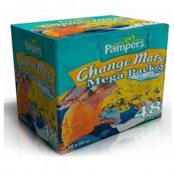 Maxi Pack de 48 Alèses de Changes Pampers taille 60x60cm sur Couches Zone