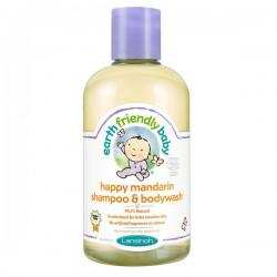 Flacon Gel douche EFB - Earth Friendly Baby Bio Mandarine sur Couches Zone