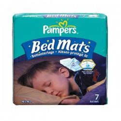 Pack 7 Alèses de lits Pampers taille 90X80cm sur Couches Zone