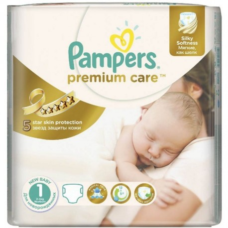 Pack 41 Couches Pampers Premium Care taille 1 sur Couches Zone