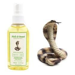 Huile de beauté de Serpent Naga 100% Naturelle sur Couches Zone