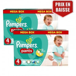 Maxi Pack 282 Couches Pampers Baby Dry Pants taille 4 sur Couches Zone