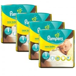 maxi pack 115 Couches Pampers New Baby taille 1 sur Couches Zone