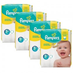 Giga Pack 160 Couches Pampers Premium Protection - New Baby taille 5+