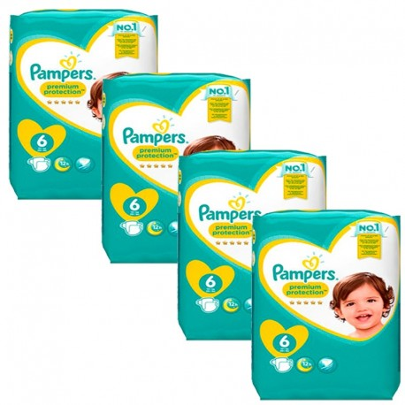 Giga Pack 96 Couches Pampers Premium Protection - New Baby taille 6 sur Couches Zone