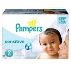 Giga Pack 360 Couches Pampers New Baby Sensitive taille 2 sur Couches Zone