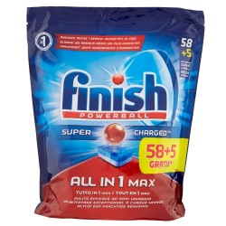 Finish Tabs 63 Powerball Super Charged Special Graisses All in 1 Max (1027 gr) sur Couches Zone