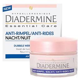 Diadermine Essential Care 50 ml Anti-Rides Nuit sur Couches Zone