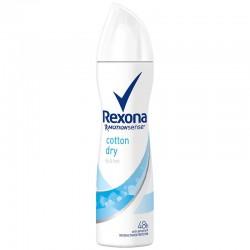 Rexona Deo 150 ml Motion Sense Cotton Dry sur Couches Zone