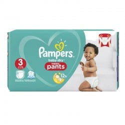 Pack 80 Couches Baby Dry Pants