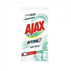 Ajax Lingettes par 50 Optimal 7 avec Javel sur Couches Zone
