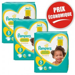 Giga Pack 120 Couches New Baby Premium Protection sur Couches Zone