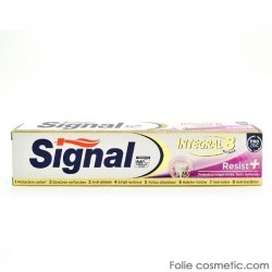 Dentifrice Signal Integral 8 Resist+ sur Couches Zone