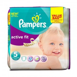Pack 47 Couches Pampers Active Fit taille 5