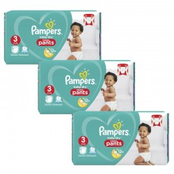 Maxi Giga Pack 240 Couches Pampers Baby Dry Pants taille 3 sur Couches Zone