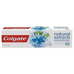 Colgate 75 ml Natural Extracts Blancheur Eclatante sur Couches Zone