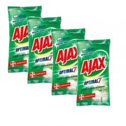 Ajax Lingettes 200 Lingettes Optimal 7 Cuisine & Surfaces Grasses sur Couches Zone