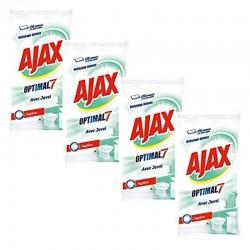 Ajax 200 Lingettes Optimal 7 avec Javel sur Couches Zone