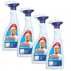 Meister Proper 4 Spray 700 ml Nettoyant Salle de Bains sur Couches Zone