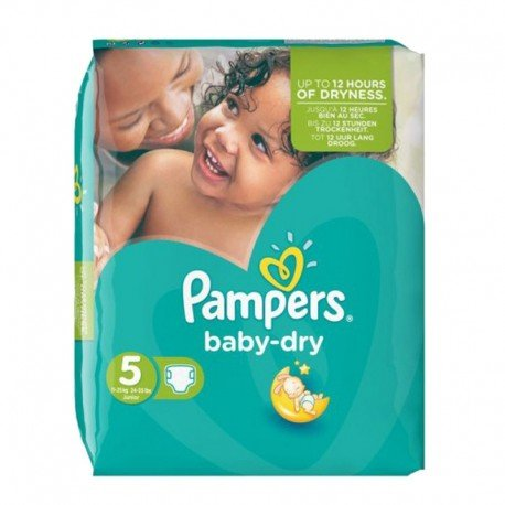 90 Couches Pampers Baby Dry Taille 5 En Solde Sur Couches Zone