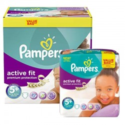 Maxi Pack 288 Couches Pampers Active Fit Premium Protection sur Couches Zone