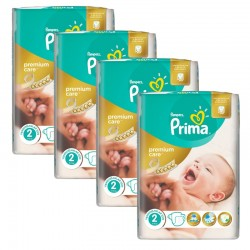 Maxi Giga Pack 110 Couches Pampers Premium Care - Prima taille 2