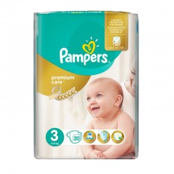 Pack 20 Couches Pampers Premium Care Prima sur Couches Zone