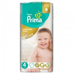 Pack 20 Couches Pampers Premium Care - Prima taille 4 sur Couches Zone