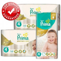 Giga Pack 560 Couches Pampers Premium Care - Prima taille 4