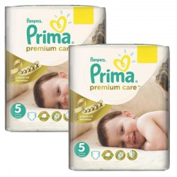 Maxi Pack 126 Couches Pampers Premium Care - Prima taille 5