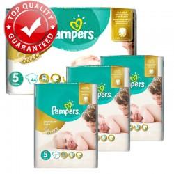 Giga Pack 180 Couches Pampers Premium Care Prima Taille 5 Junior (11-25 kg) sur Couches Zone