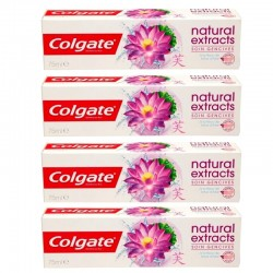 Lot 4 Dentifrices Colgate Natural Extracts Soin Gencives sur Couches Zone