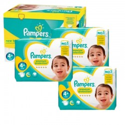 Maxi Giga Pack 248 couches Pampers New Baby Premium Protection sur Couches Zone