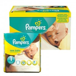 Pack 96 Couches Pampers new baby - premium protection taille 1 sur Couches Zone