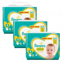 Giga Pack 246 Couches Pampers New Baby Premium Protection