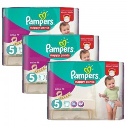 Mega Pack 120 Couches Pampers Active Fit Pants