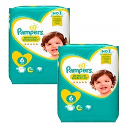 Pack 111 couches Pampers New Baby Premium Protection