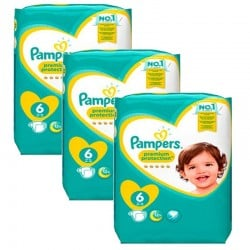 Maxi Pack 148 couches Pampers New Baby Premium Protection sur Couches Zone