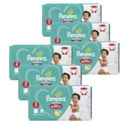 Maxi giga pack 320 Couches Pampers Baby Dry Pants taille 3