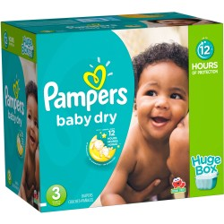 Baby Dry - Pack de 136 Couches de Pampers taille 3
