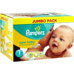 New Baby - Pack 280 Couches de Pampers taille 1