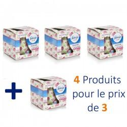 Flower Bloom - Pack de 4 Bougies Parfumées Febreze - 4 au prix de 3 sur Couches Zone